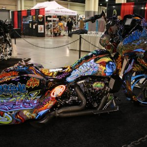 Motorcycle Custom Paint