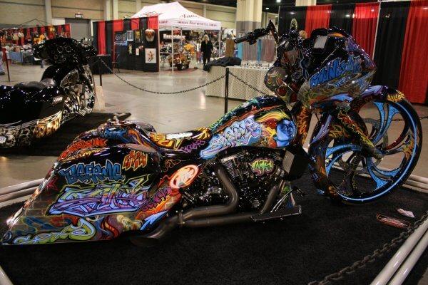 Motorcycle Custom Paint
