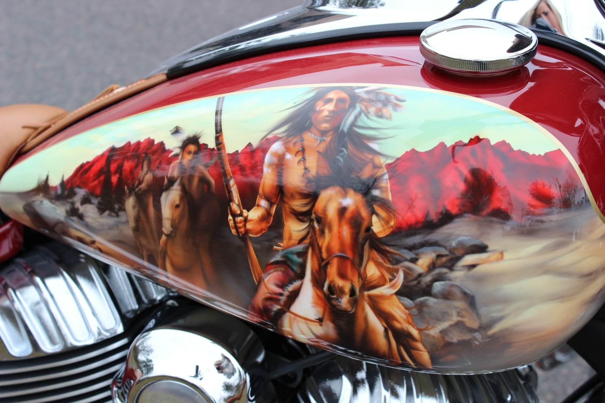Custom Paint Jobs For Motorcycles In Columbus Ohio