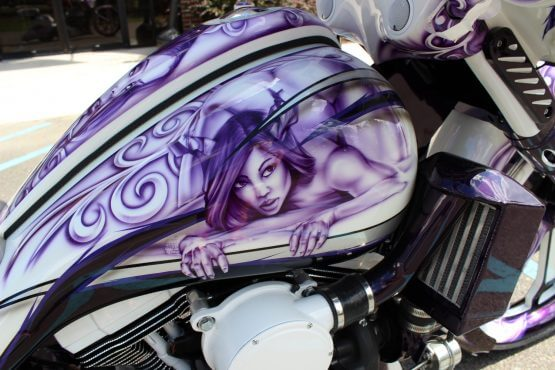 Bagger Custom Paint
