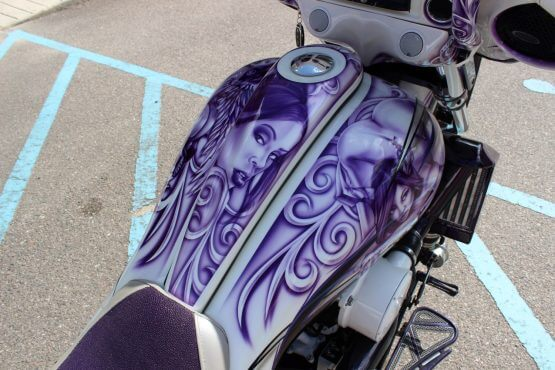 Custom Baggers Paint
