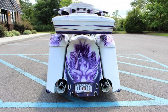 Bagger Chopper Custom Paint