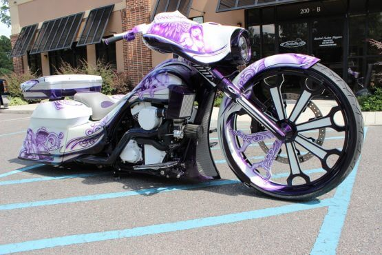 Custom Bagger Paint Job