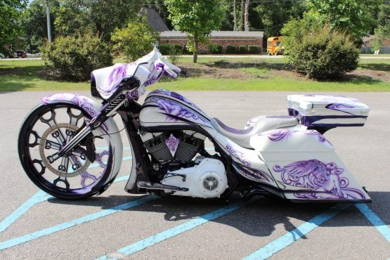 Bagger Image Custom Paint