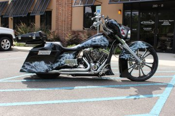 Camtech Custom Harley Davidson Paint Job