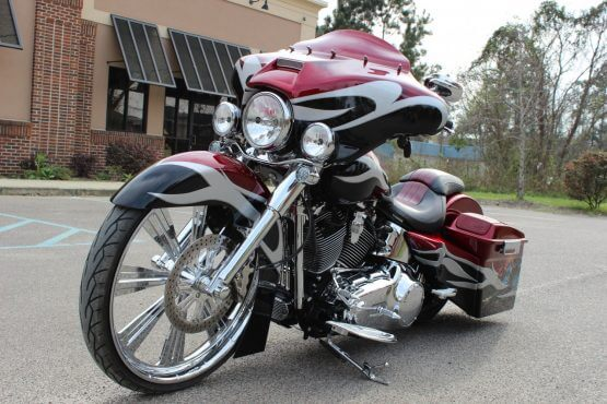 Carolina Bike Custom Bagger