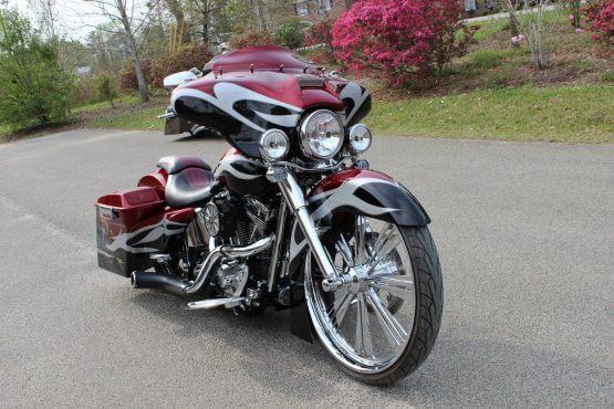 Camtech Custom Baggers Harley Davidson