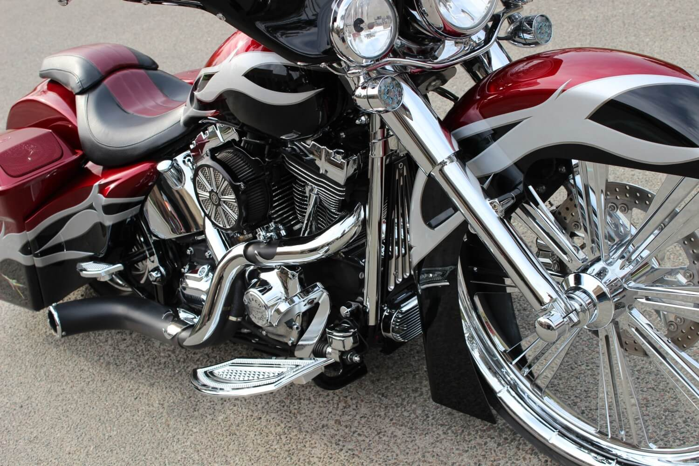 Custom Paint Jobs Harley Baggers