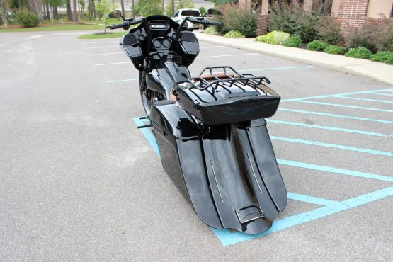 Camtech Custom Road Glide Blackedout