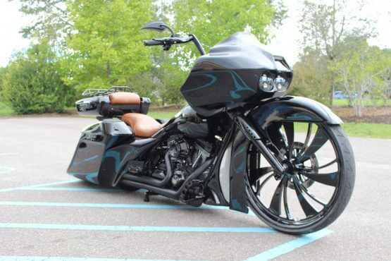 Custom Blacked Out Road Glide