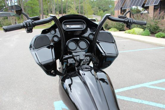 Camtech Custom Glider Blacked Out Road Glide