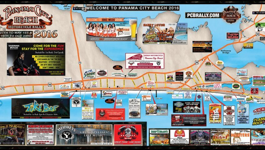 Panama City Beach Spring Bike Week